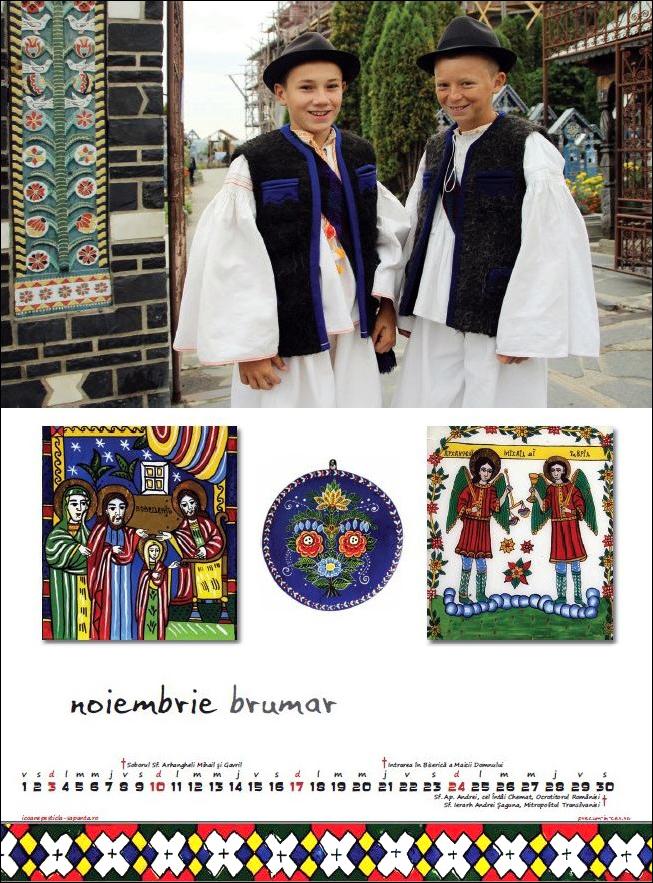 Calendar Icoane Sapanta 2013 Nov Foto Cristina Nichitus Roncea Pictura Ioana Lutai